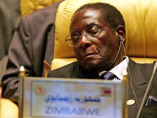 93-year-old President Robert Mugabe