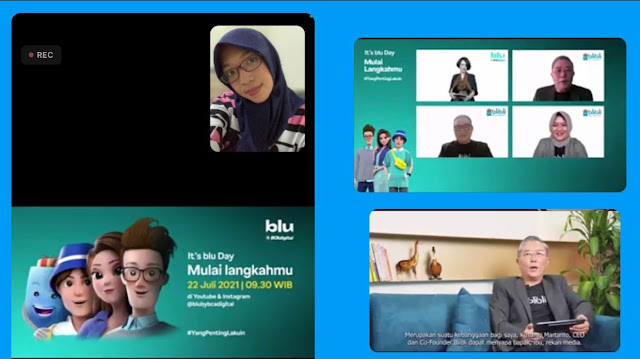 launching aplikasi blu by bca digital