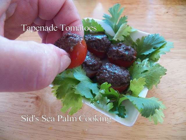 Tapenade Tomatoes