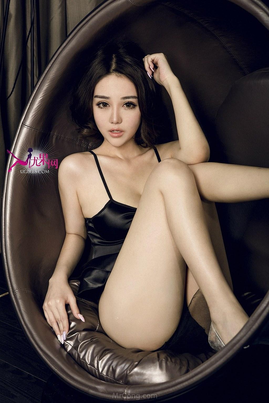 Image MrCong.com-UGIRLS-U146-Wang-Er-Lin-009 in post Mê mẩn với thân hình hoàn hảo của người đẹp Wang Er Lin (王尔琳) trong bộ ảnh UGIRLS 146