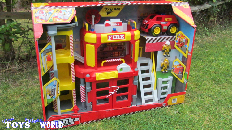 When Toys Rule The World: Review: Tonka Town Fire Station