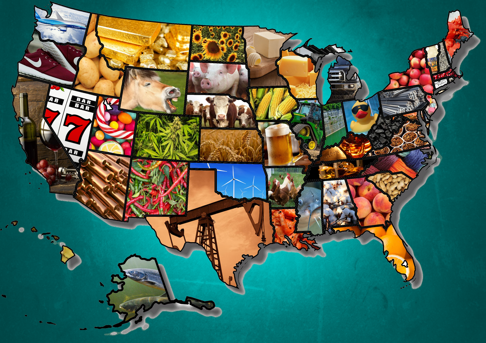 Most Iconic Product in Each U.S. State