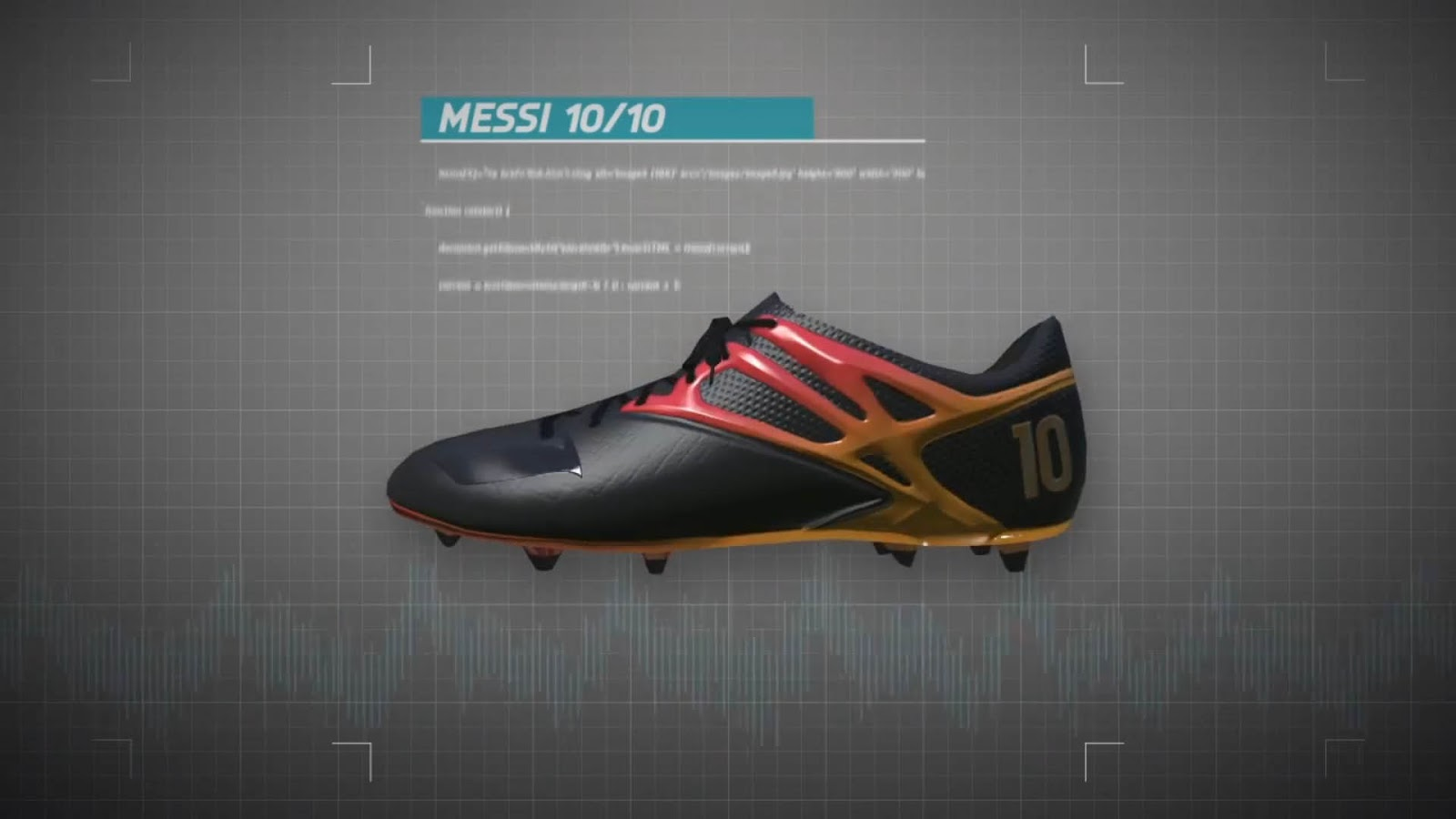c6aed2e6726b messi tries on messi 1010 boots