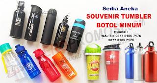 Bawa Botol Minum/tumbler Sendiri saat berpergian