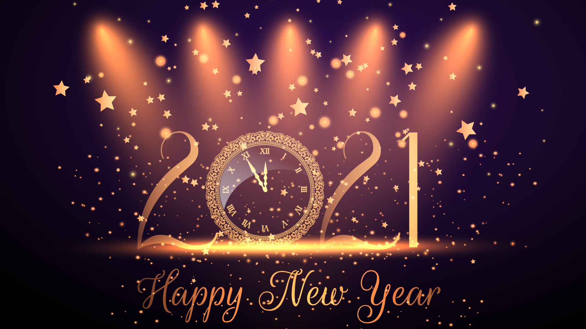 Happy New Year 2021 HD Wallpaper
