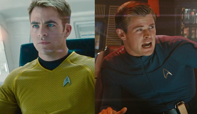 """Star Trek 4"" pode perder Chris Pine e Chris Hemsworth"