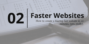 Quote for making fast website