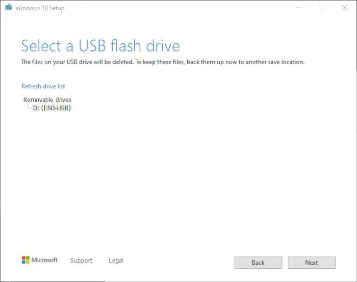 قم بتثبيت Windows 10 2021 الخطوة 6