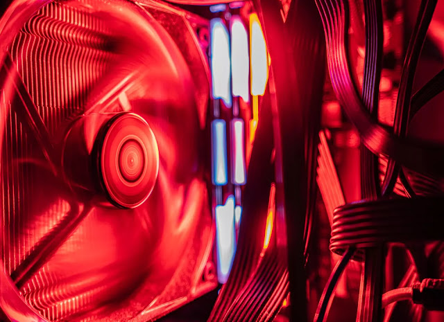 Computer fan removes excessive heat