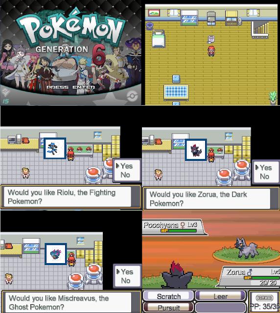 Pokemon Metal RPG Maker XP Download