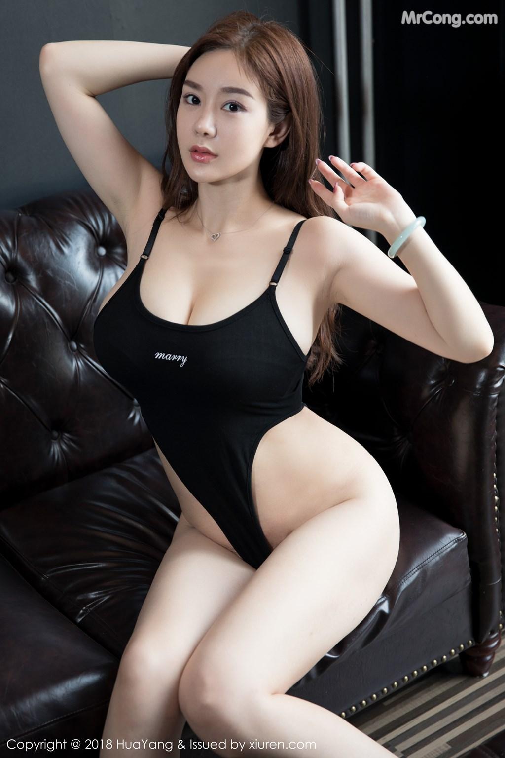 Image HuaYang-2018-08-09-Vol.068-Silvia-MrCong.com-011 in post HuaYang 2018-08-09 Vol.068: Người mẫu 易阳Silvia (41 ảnh)