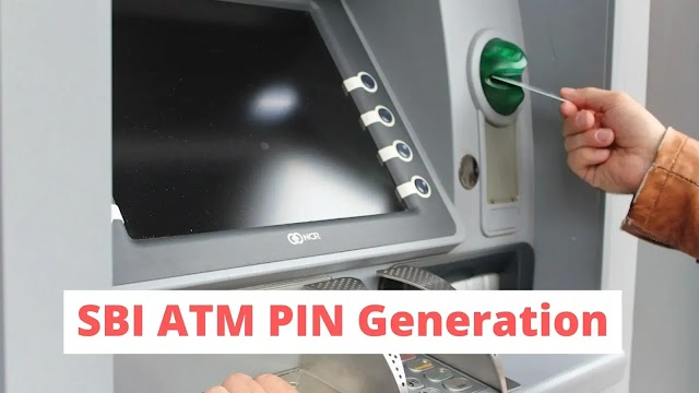 How To Generate SBI Debit Pin Without Visiting Branch | By Using ATM Machine