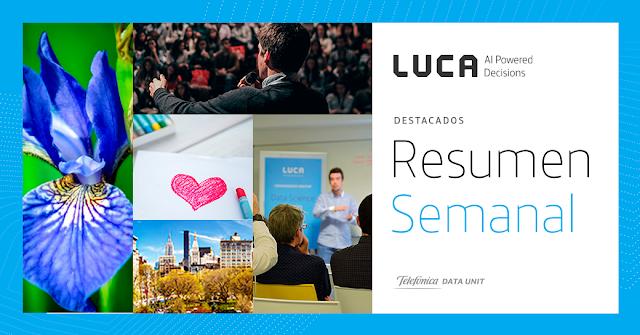 Esta semana en el blog de LUCA: del 11 al 17 de Febrero
