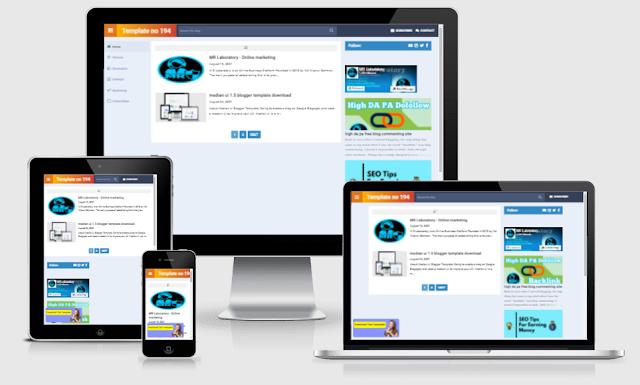 TouchCade premium blogger template