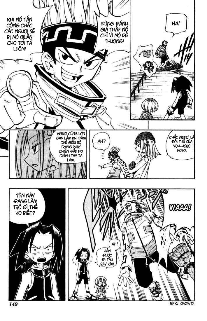 Shaman King [Vua pháp thuật] chap 33 trang 19