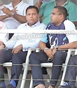 Dayasiri -- Harin come to Havelock to see their sons' rugby