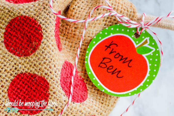 Printable Apple Gift Tags
