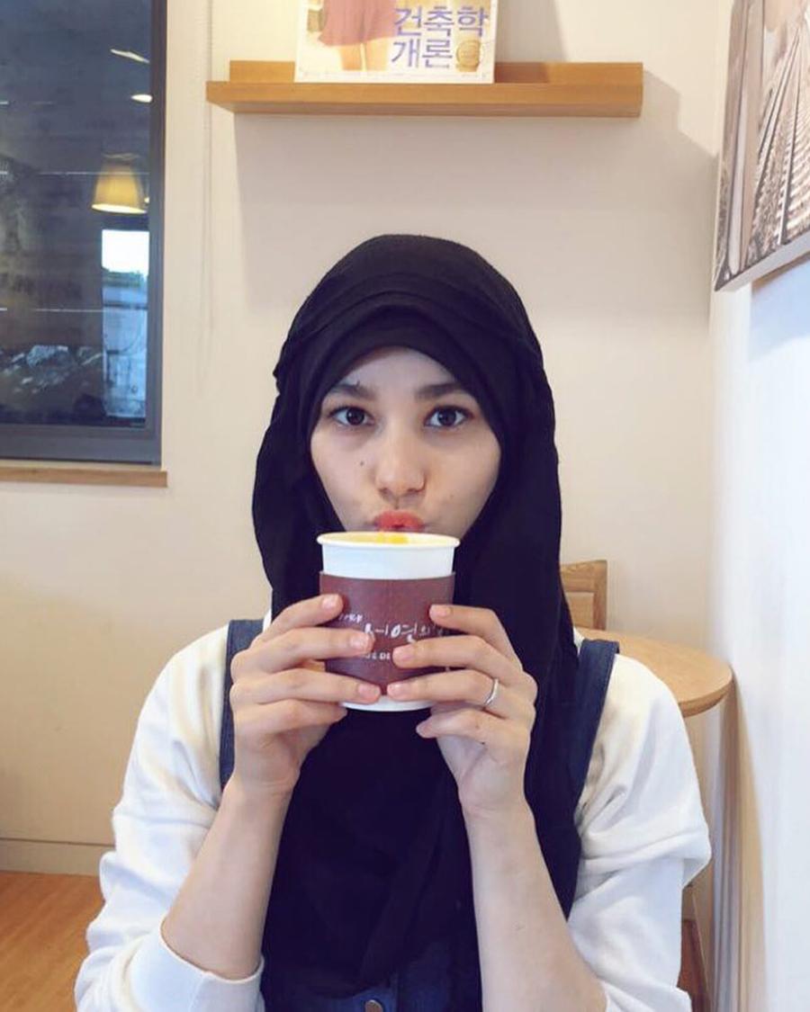 cewek manis Kim Miso artis korea selatan dan manis