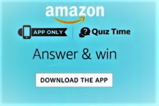 Amazon Quiz Today Contest All Answers 11th December: Answer the Questions and Stand A Chance To Win, Amazon Quiz 11 December 2019 Answers Win - Exciting Prizes