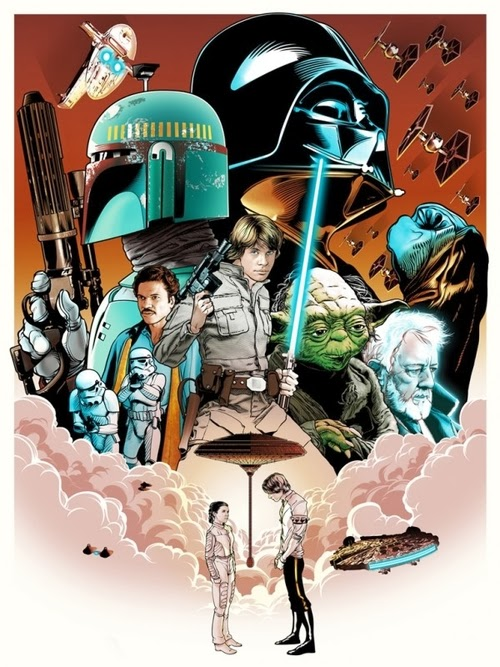 11-Star-Wars-Film-and-TV-Series-Posters-US-Artist-Joshua-Budich-www-designstack-co