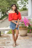 Rhea Chakraborty in Red Crop Top and Denim Shorts Spicy Pics ~  Exclusive 093.JPG
