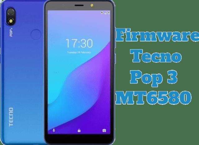 تفليش وتحديث جهاز  Stock Firmware Tecno Pop 3 MT6580