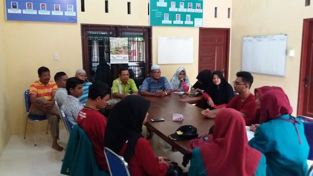 Penyuluhan Mahasiswa KKN Unsyiah di GampongTeupin Siron