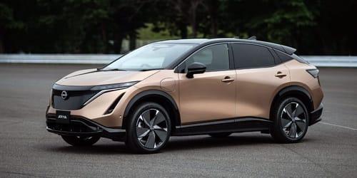 Nissan unveils Ariya electric car