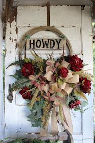 lariat rope wreath