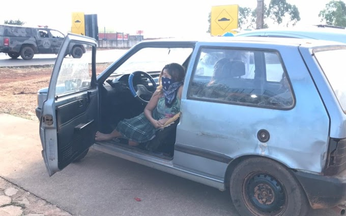 Com medo de Lázaro, família com grávida dorme dentro de carro em frente à sede da força-tarefa