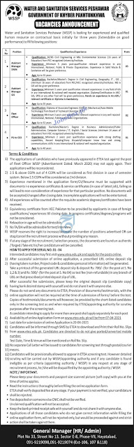 water-and-sanitation-services-peshawar-wssp-jobs-2021-apply-online