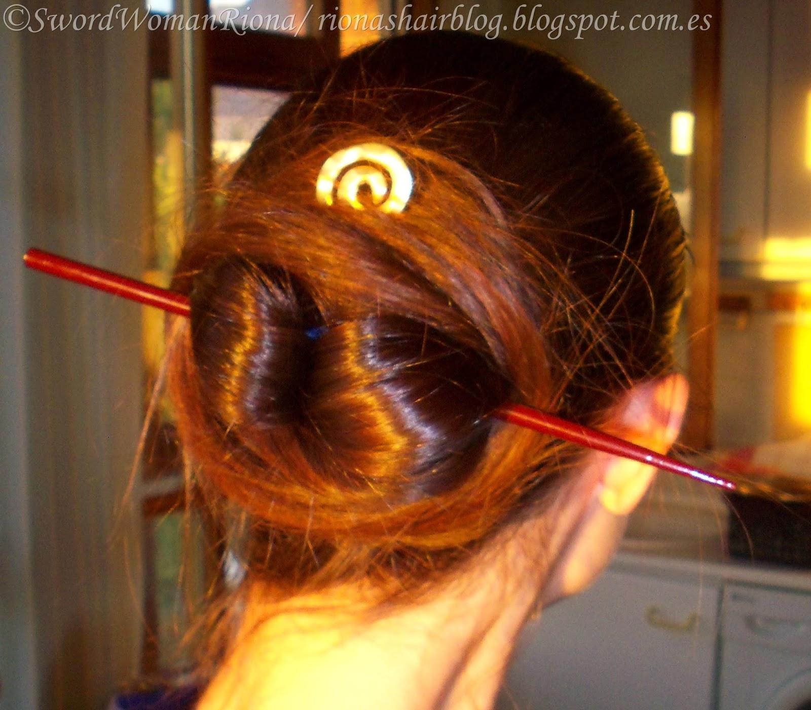 A Sword Woman S Natural Hair Blog Hairstyles The Chinese Bun