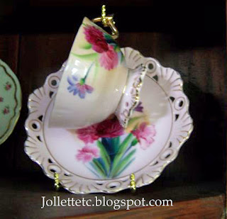 Teacup collection https://jollettetc.blogspot.com