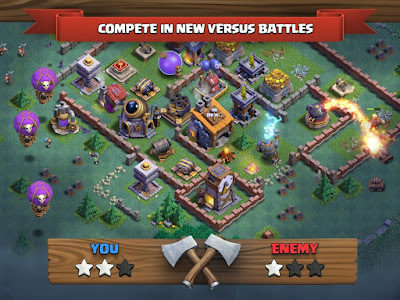 Download Game Android Clash of Clans Terbaru Versi 9.105.9