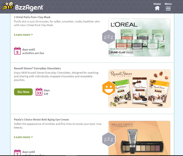 BzzAgent Screenshot