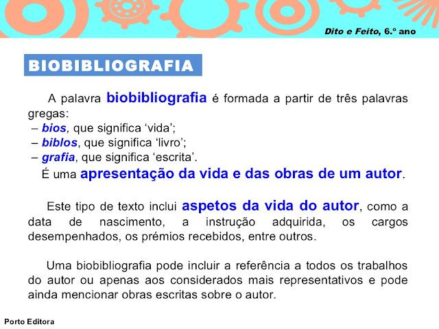 o que é BIOBIBLIOGRAFIA