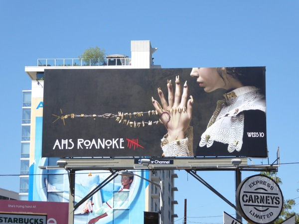 AHS Roanoke season 6 billboard