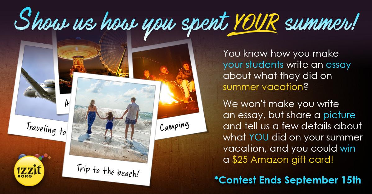 essay on summer vacation plans
