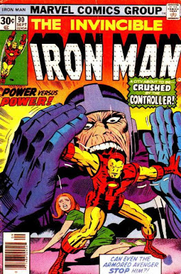 Iron Man #90, the Controller