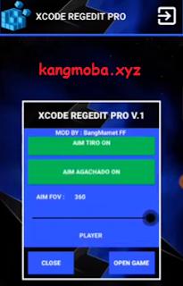 APK MOD XCODE Regedit Pro Free Fire Auto Headshot + Antiban