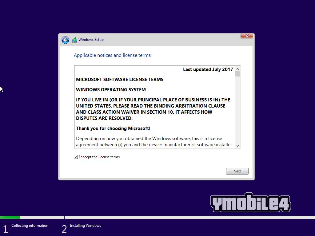 Tutorial Instal Windows 10 Step 8