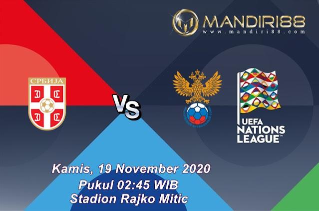 Prediksi Serbia Vs Rusia, Kamis 19 November 2020 Pukul 02.45 WIB @ Mola TV