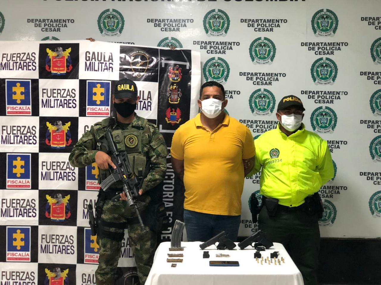https://www.notasrosas.com/En Valledupar: Sargento Viceprimero retirado del Ejército Nacional, fue capturado en su residencia con un mini arsenal