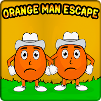 G2J Pair Of Orange Man Escape