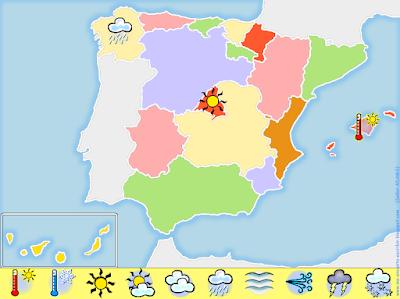 El tiempo en España