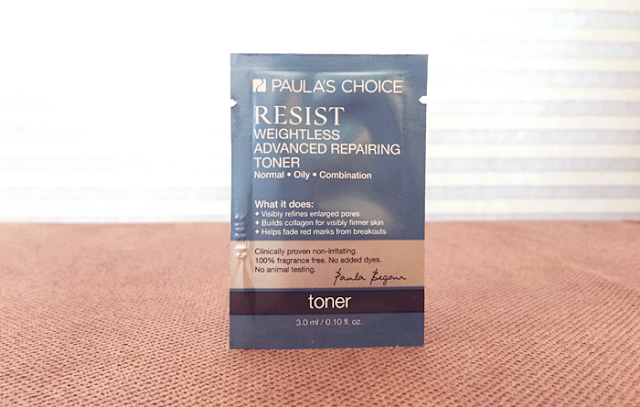 Paula's Choice Resist Toner Review - The Acne Experiment