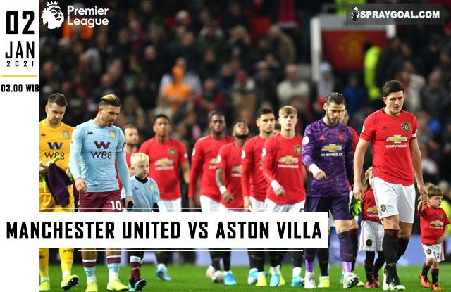 Prediksi Skor Manchester United Vs Aston Villa