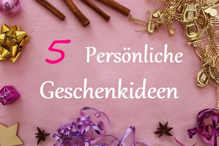 Fräulein Cinderella Persönliche Geschenkideen Zu Weihnachten