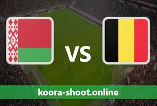بث مباشر مباراة بلجيكا وروسيا البيضاء اليوم بتاريخ 30-03-2021