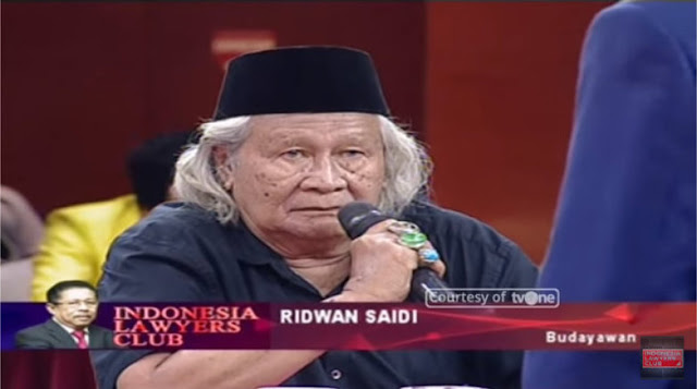 Terungkap! Ridwan Saidi: Ayahnya Lukman Saifudin Larang 167 Kitab-kitab Masuk Pesantren
